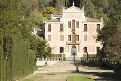 Μνημειακός σύνθετος Valsanzibio Galzignano Terme Πάδοβα στοκ εικόνες