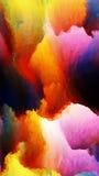 Μοίρες των χρωμάτων Στοκ Εικόνα
