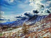 Μογγολία moutain Στοκ εικόνες με δικαίωμα ελεύθερης χρήσης