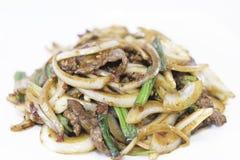 Μογγολικό βόειο κρέας Στοκ φωτογραφία με δικαίωμα ελεύθερης χρήσης