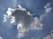 Μοιάζει με ένα σχέδιο στον ουρανό στοκ εικόνες