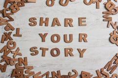 Μοιραστείτε την ιστορία σας στοκ φωτογραφία με δικαίωμα ελεύθερης χρήσης