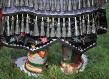 Μοκασίνια και κουδουνίσματα Pow wow στοκ εικόνα με δικαίωμα ελεύθερης χρήσης