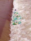 μολυσμένος ποταμός Στοκ Εικόνα