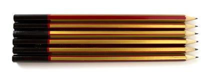 μολύβια απλά Στοκ εικόνα με δικαίωμα ελεύθερης χρήσης