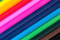 μολύβια κραγιονιών Στοκ Εικόνες