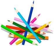 μολύβια ξύλινα ελεύθερη απεικόνιση δικαιώματος