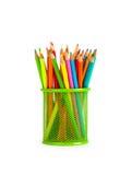 μολύβια που τίθενται Στοκ Φωτογραφία