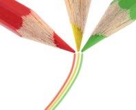 μολύβια τρία Στοκ εικόνα με δικαίωμα ελεύθερης χρήσης