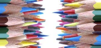 μολύβια χρωμάτων Στοκ Εικόνες