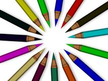μολύβια ελεύθερη απεικόνιση δικαιώματος