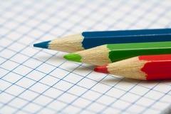 μολύβια rgb Στοκ φωτογραφία με δικαίωμα ελεύθερης χρήσης