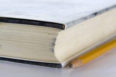 μολύβι βιβλίων Στοκ Εικόνα
