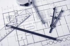 μολύβι διαιρετών σχεδια&ga Στοκ φωτογραφία με δικαίωμα ελεύθερης χρήσης