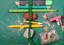 μολύβι κιβωτίων Στοκ εικόνες με δικαίωμα ελεύθερης χρήσης