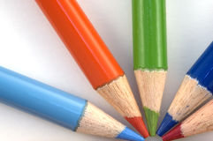 μολύβι κραγιονιών στοκ φωτογραφίες με δικαίωμα ελεύθερης χρήσης