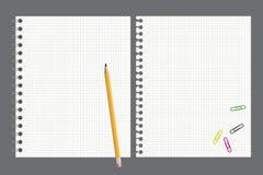 μολύβι σημειωματάριων διανυσματική απεικόνιση
