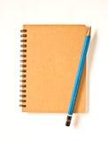 μολύβι σημειωματάριων Απεικόνιση αποθεμάτων