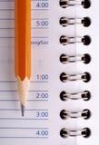 μολύβι σημειωματάριων Στοκ Εικόνα