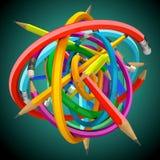 μολύβι σφαιρών Στοκ φωτογραφία με δικαίωμα ελεύθερης χρήσης