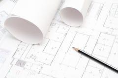 μολύβι σχεδιαγραμμάτων π&omic Στοκ Φωτογραφία