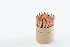 μολύβι φλυτζανιών χρώματο&si στοκ φωτογραφίες με δικαίωμα ελεύθερης χρήσης