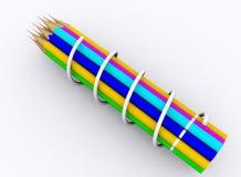 μολύβι χρώματος ελεύθερη απεικόνιση δικαιώματος