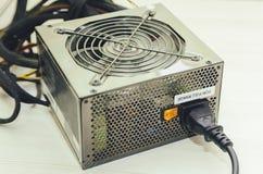 Μονάδα παροχής ηλεκτρικού ρεύματος υπολογιστών στοκ εικόνα