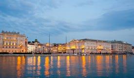 μονάδα της Τεργέστης πλατειών δ Ιταλία Στοκ Φωτογραφία
