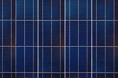 Μονάδα ηλιακών κυττάρων Στοκ Εικόνες