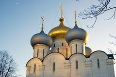 μονή Μόσχα novodevichy Καθεδρικός ναός εικονιδίων του Σμολένσκ Στοκ φωτογραφία με δικαίωμα ελεύθερης χρήσης