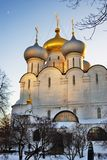 μονή Μόσχα novodevichy Καθεδρικός ναός εικονιδίων του Σμολένσκ Στοκ Εικόνες