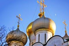 μονή Μόσχα novodevichy Καθεδρικός ναός εικονιδίων του Σμολένσκ Στοκ εικόνες με δικαίωμα ελεύθερης χρήσης