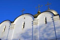 μονή Μόσχα novodevichy Καθεδρικός ναός εικονιδίων του Σμολένσκ Στοκ Φωτογραφίες