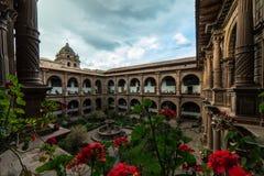 Μονή της κυρίας Mercy μας Iglesia de Λα Merced σε Cusco, Περού Στοκ φωτογραφία με δικαίωμα ελεύθερης χρήσης