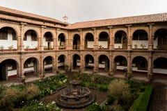 Μονή της κυρίας Mercy μας Iglesia de Λα Merced σε Cusco, Περού Στοκ εικόνες με δικαίωμα ελεύθερης χρήσης