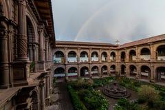 Μονή της κυρίας Mercy μας Iglesia de Λα Merced σε Cusco, Περού Στοκ Εικόνες