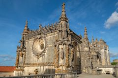 Μονή Χριστού Tomar, Πορτογαλία Στοκ φωτογραφίες με δικαίωμα ελεύθερης χρήσης