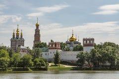 Μονή Novodevichy, καλοκαίρι της Μόσχας Ρωσία μοναστηριών bogoroditse-Smolensky στοκ φωτογραφίες
