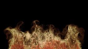 Μοναδική έκρηξη μορίων απόθεμα βίντεο