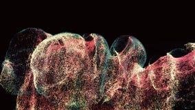 Μοναδική έκρηξη μορίων ελεύθερη απεικόνιση δικαιώματος