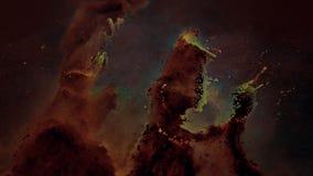 Μοναδική αναψυχή μορίων του νεφελώματος αετών ελεύθερη απεικόνιση δικαιώματος