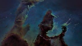 Μοναδική αναψυχή μορίων του νεφελώματος αετών απεικόνιση αποθεμάτων