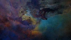 Μοναδική αναψυχή μορίων του νεφελώματος λιμνοθαλασσών απεικόνιση αποθεμάτων