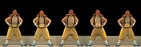 Μοναδικός εμφανίστε της κινεζικής παραδοσιακής όπερας στοκ φωτογραφία με δικαίωμα ελεύθερης χρήσης