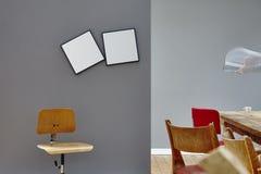 Μοναδικό πρόσωπο χώρου εργασίας χώρου εργασίας δημιουργικό στη μετακίνηση Στοκ Εικόνα