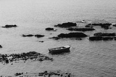 Μοναξιά ενός σκάφους Στοκ Φωτογραφίες