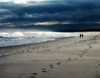 Μοναξιά στην ακτή στοκ φωτογραφία