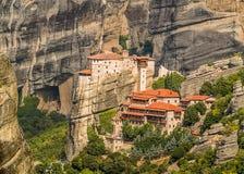 Μοναστήρια στους βράχους Στοκ εικόνες με δικαίωμα ελεύθερης χρήσης