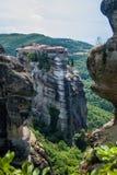 Μοναστήρια Meteora στα Τρίκαλα, Ελλάδα Στοκ Φωτογραφίες